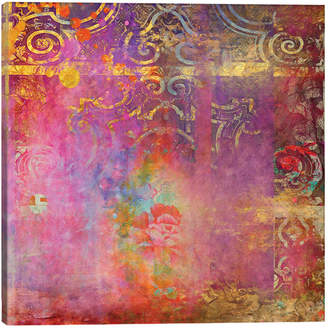iCanvas icanvasart Rose Canvas Art Print