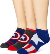 Marvel Captain America 3-pk. Low-Cut Socks