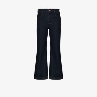 See by Chloe High Waist Kick Flare Jeans