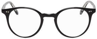 Garrett Leight Black Clune Glasses