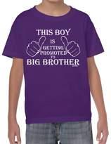 StarliteFunnyShirts Promoted to Big Brother-Boys-Kids Funny Sayings tshirts