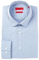 HUGO BOSS EagelX Long Sleeve Slim Fit Check Dress Shirt