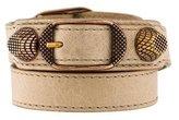 Balenciaga Arena Giant Wrap Bracelet