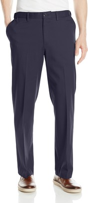 Savane Men's Big-Tall Big and Tall Flat Front Ultimate Performance Chino