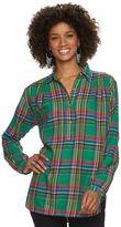 Chaps Women's Plaid Button-Down Shirt