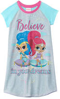 Character Sleepwear Girls' Shimmer And Shine Nightgown