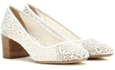 Chloé Lace Pumps
