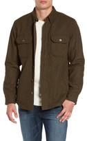 Jeremiah Men's Creek Herringbone Wool Shirt Jacket