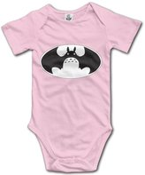 LADOLADO My Neighbor Totoro Bat Logo Baby Onesie Infant T Shirt