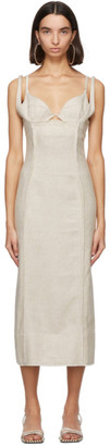 Jacquemus Beige La Robe Valerie Dress