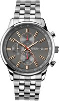 Sekonda Men's Quartz Watch with Dial Chronograph Display and Silver Stainless Steel Bracelet 1156.27