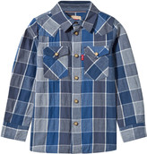 Levi's and Grey Woven Check Shirt