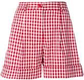 P.A.R.O.S.H. gingham print shorts