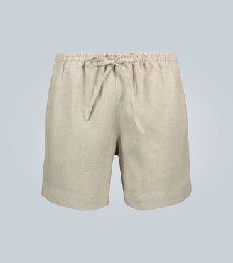 COMMAS Linen drawstring shorts