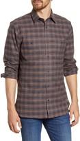 Nordstrom Workwear Regular Fit Plaid Flannel Button-Up Shirt