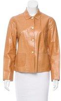 Rozae Nichols Leather Lightweight Jacket