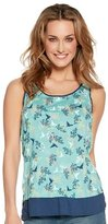 M&Co Floral print vest top