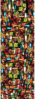 Pj Studio Accessories. Fonthill Red & Green Wool Silk