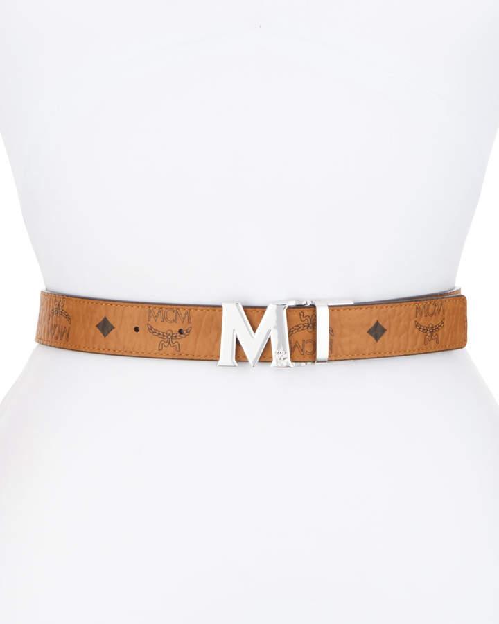 MCM Reversible Logo Belt