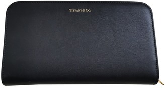 Tiffany & Co. Black Leather Wallets