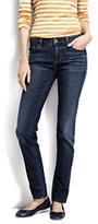Classic Women's Tall Not-too-low Rise Slim Leg Jeans-Medium Indigo Wash