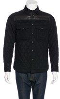 Rag & Bone Lambskin-Trimmed Quilted Jacket