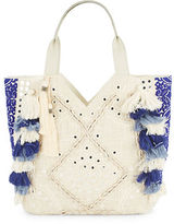 Sam Edelman Kendall Cotton-Blend Satchel Bag