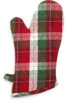 Holiday Plaid Oven Mitt