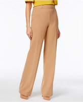 INC International Concepts High-Waist Wide-Leg Trousers, Only at Macy's