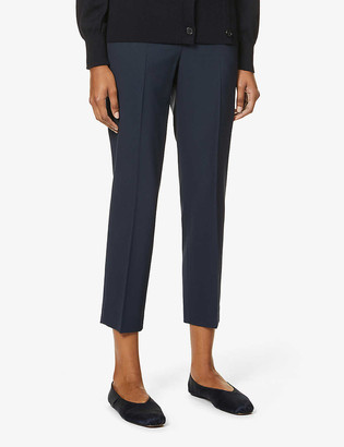 Theory Treeca stretch-wool trousers
