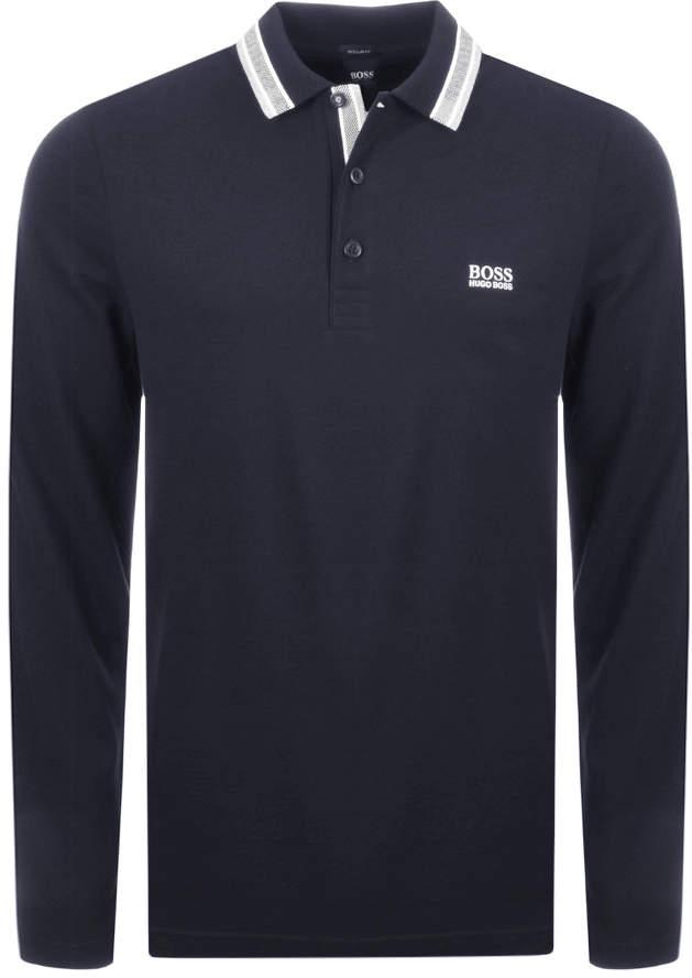 3f2fe47d4 Hugo Boss Long Sleeve Polo - ShopStyle UK