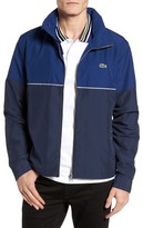 Lacoste Men's Water Resistant Hooded Parka