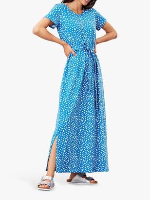 Joules Arianna Leopard Print Maxi Dress, Blue