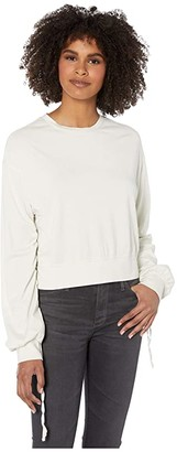 AG Jeans Farrow Sweatshirt (Ivory Dust) Women's Clothing
