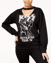 Freeze 24-7 Juniors' KISS Choker Sweatshirt
