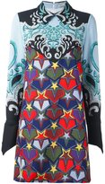 Mary Katrantzou 'Polaris' dark showmanship dress - women - Silk/Polyester/Triacetate - 14