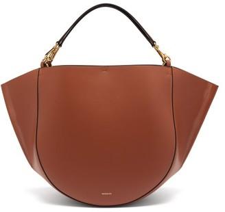 Wandler Mia Large Leather Tote Bag - Womens - Tan