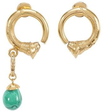 Patou Asymmetric earrings
