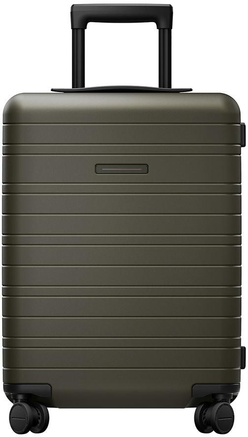 Horizn Studios Essential Hard Shell Cabin Suitcase - Dark Olive
