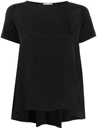 Semi-Couture high-low hem T-shirt
