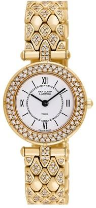 Van Cleef & Arpels Women's Classiques Diamond Watch, Circa 2000S
