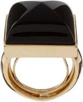 Kara by Kara Ross Onyx Single Gemstone Ring
