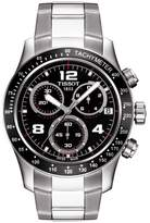Tissot Men's T0394171105702 V 8 Stainless Steel Chronograph Dial Watch