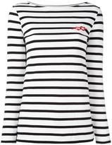 Zoe Karssen Breton stripe jumper