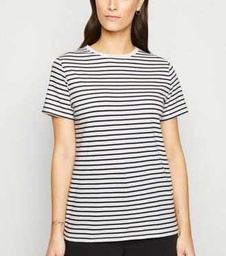New Look Stripe Crew Neck T-Shirt