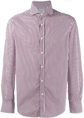 Brunello Cucinelli classic striped shirt