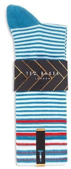 Ted Baker Mxs Prestin Striped Socks