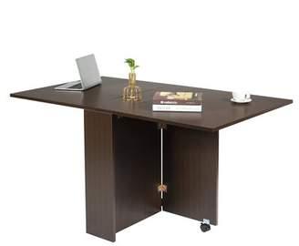 Ebern Designs Runion 3 in 1 Folding Writing Desk Ebern Designs