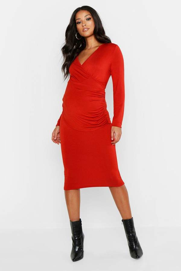 3d49882e63042 boohoo Red Maternity Clothes - ShopStyle
