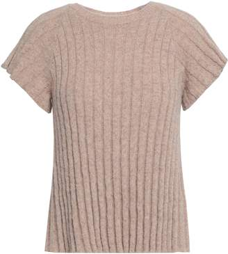 RED Valentino Ribbed-knit Sweater